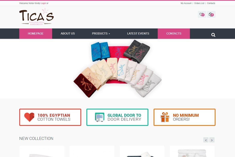 Ticas-Website