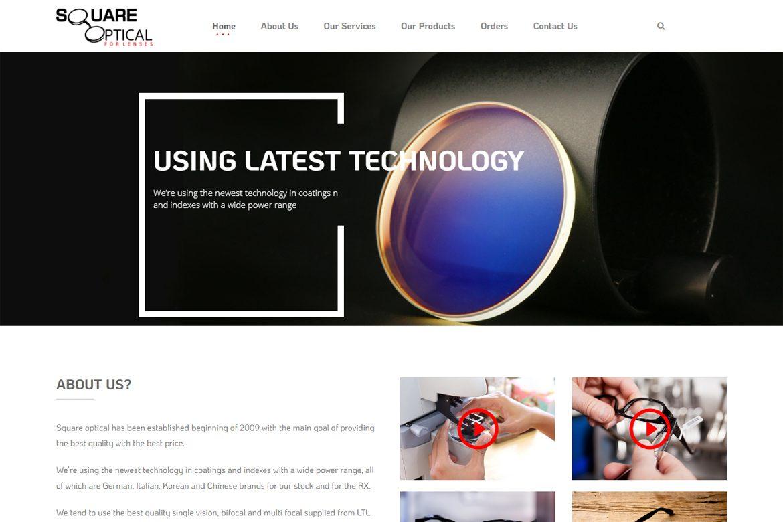 Square-Website